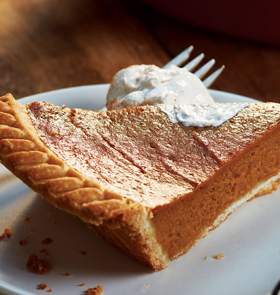 Homestyle Pumpkin Pie