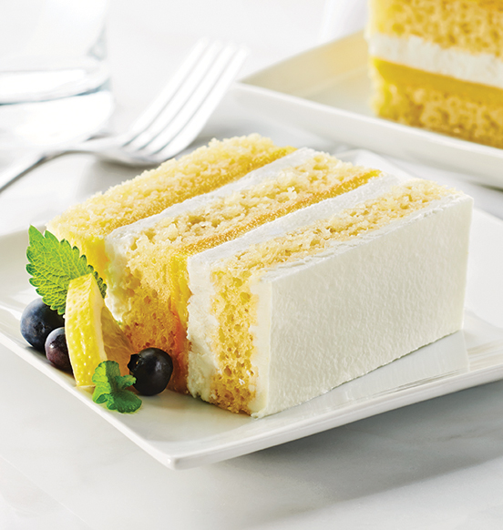 TOO TALL® Lemon and Cream Cake