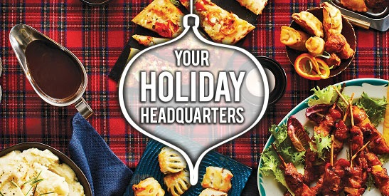 Your Holiday Headquarters | Shop M&M Food Market Holiday Appetizers and Desserts