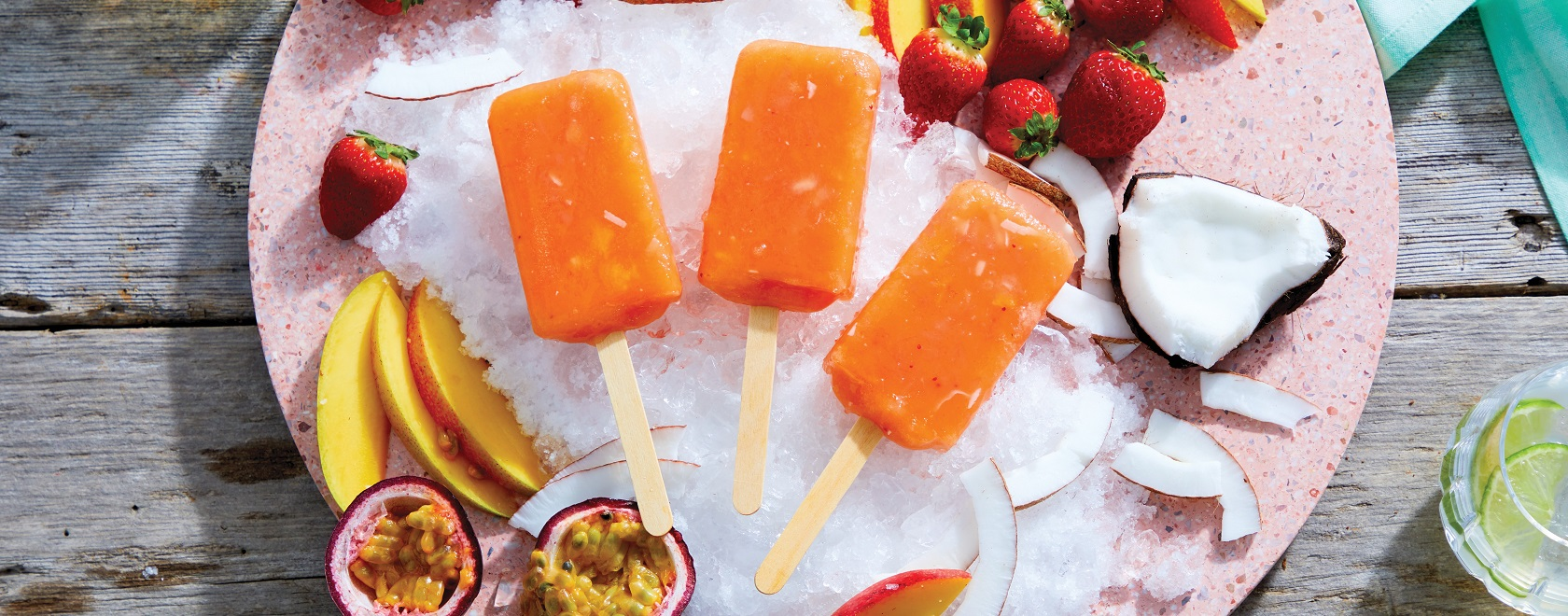NEW Tropical Fruit Bars
