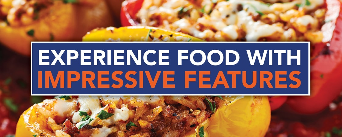 Experience Food With Impressive Features