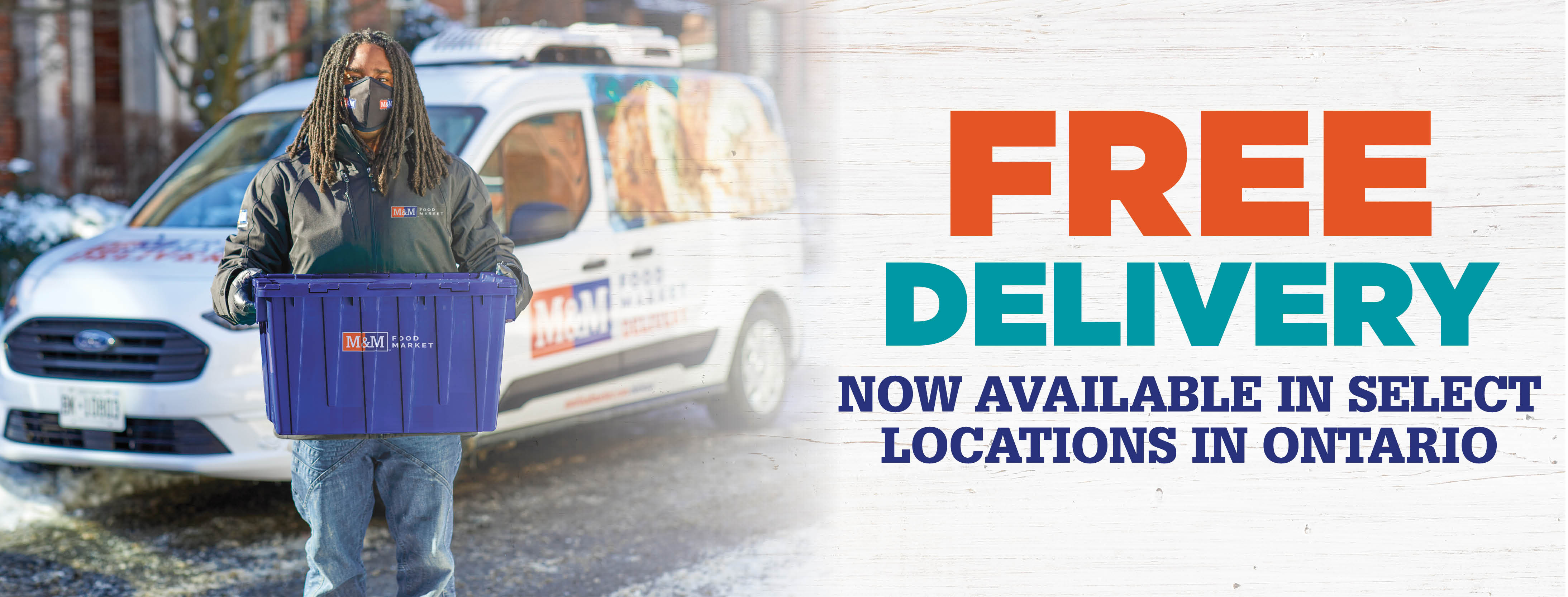 FREE Delivery now available in select locations in Ontario