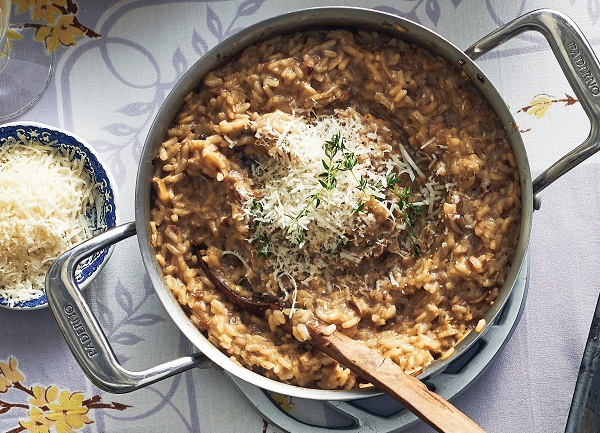 Mushroom Risotto Simple Side Dish