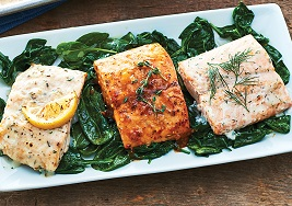 A group of our Salmon Fillets