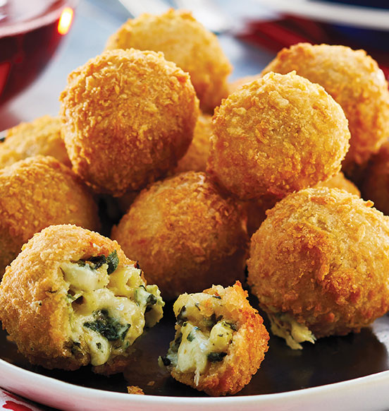 Artichoke Mac and Cheese Bites