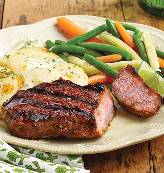 Barbecue Sirloin Steaks