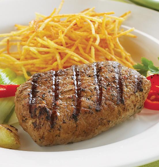 Herb and Garlic Sirloin Steaks
