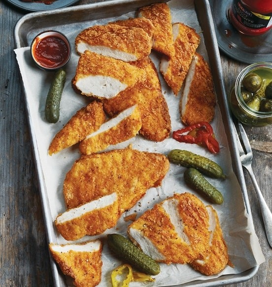 Spicy Breaded Chicken Breasts