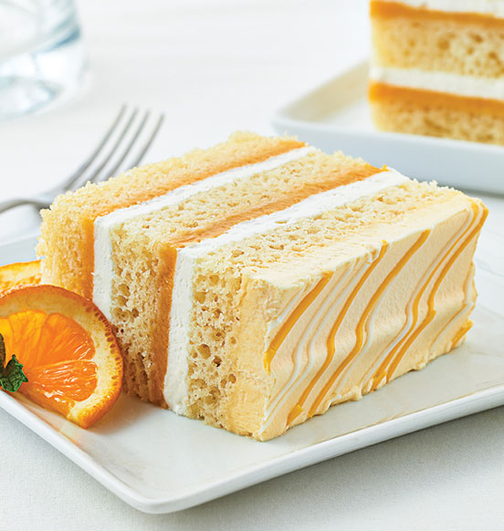 TOO TALL® Orange and Cream Cake