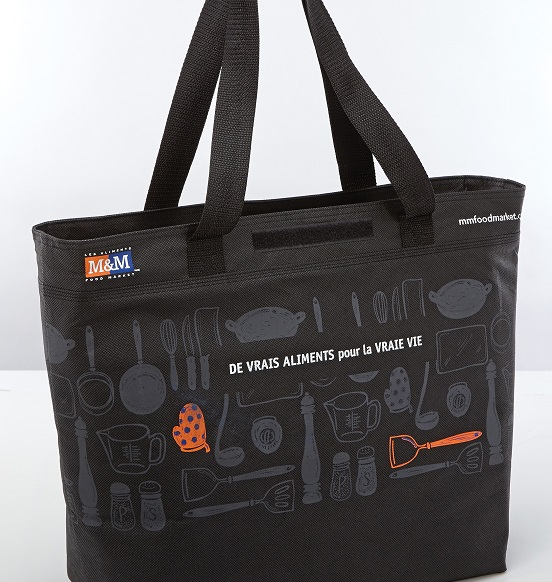 Reusable Cooler Tote French