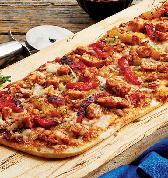 Chipotle Barbecue Chicken Flatbread