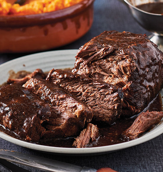 Slow Cooked Beef Pot Roast