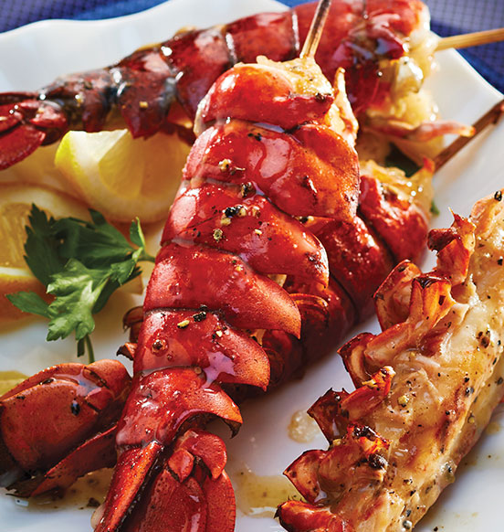 Lobster Tail Skewers