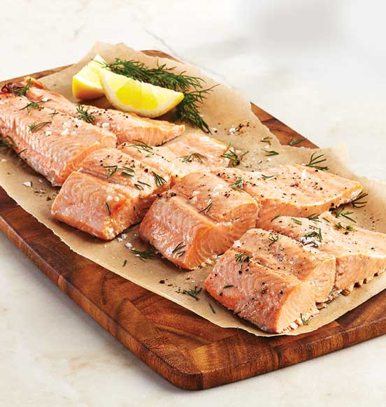Pacific Salmon Fillet