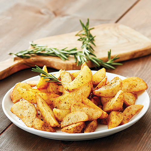 Garlic and Rosemary Potato Wedges